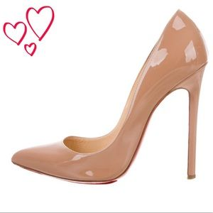 Authentic Christian Louboutin Pigalle heels 120